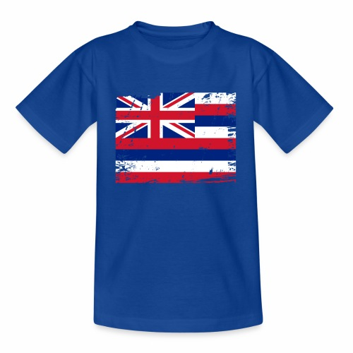 Hawaii flag textiles, Gifts and products for you - Nuorten t-paita