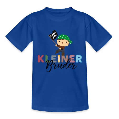 Kleiner Bruder Piraten - Teenager T-Shirt
