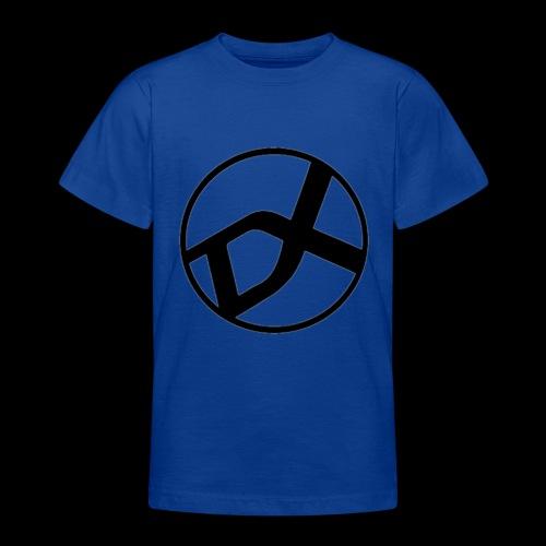 DX Logo black - Teenager T-Shirt