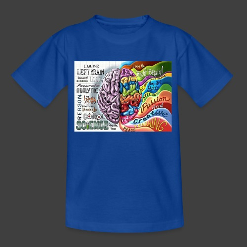 Brain LR - Teenage T-Shirt
