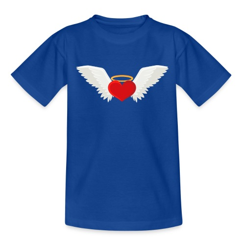 Winged heart - Angel wings - Guardian Angel - Teenage T-Shirt
