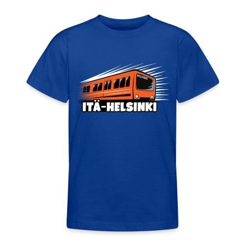METRO ITÄ-HELSINKI T-paidat, Hupparit, lahjat ym. - Nuorten t-paita