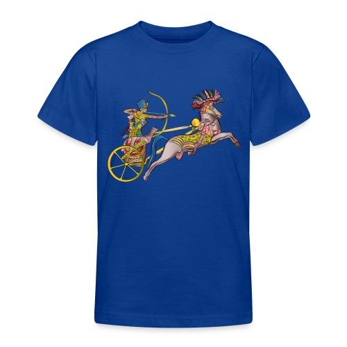 Pharao mit Streitwagen - Teenager T-Shirt