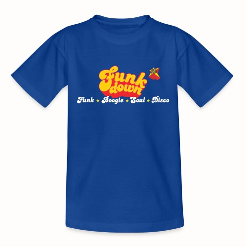 FunkDown Official Merchandise (med genrer) - Teenager-T-shirt