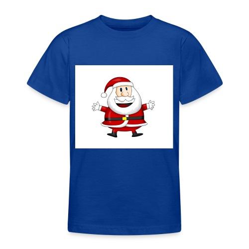 Happy-Santa-1--jpg - Teenager T-shirt