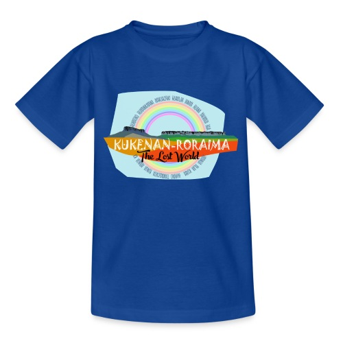 Roraima and Kukenan, The Lost World - Camiseta adolescente