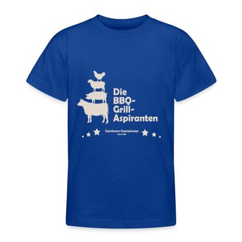 Die BBQ-Grill-Aspiranten - Grill Shirt - Teenager T-Shirt