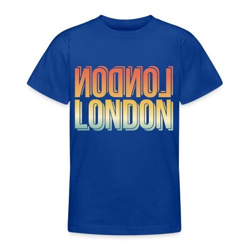 London Souvenir England Simple Name London - Teenager T-Shirt