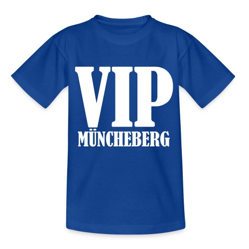 VIP Müncheberg - Teenager T-Shirt