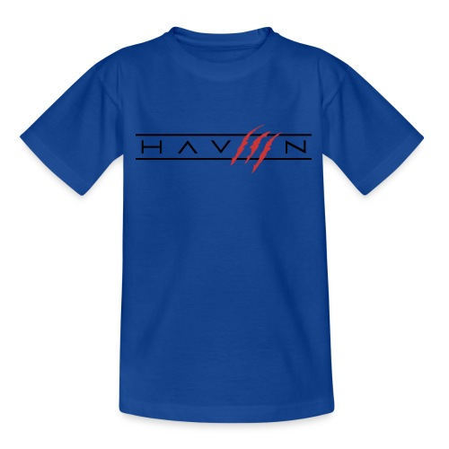 Logo Zwart - Teenager T-shirt