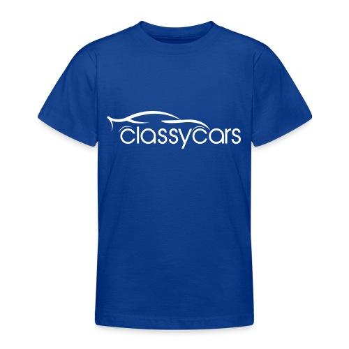 ClassyCars White Logo - Maglietta per ragazzi