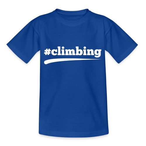 #CLIMBING - Teenager T-Shirt