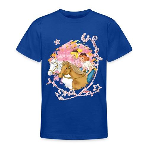 Bibi und Tina 'Wettreiten im Wald' - Teenager T-Shirt