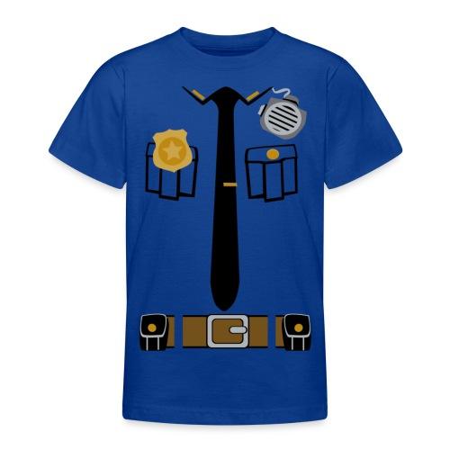 Police Patrol Costume - Teenage T-Shirt