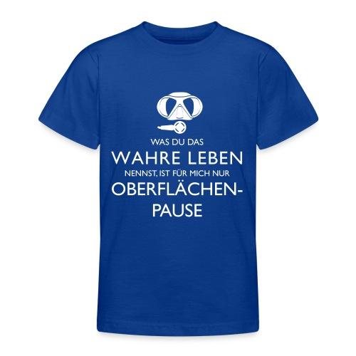 Oberflächenpause - Teenager T-Shirt