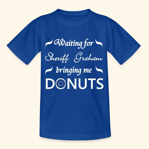 Sheriff Graham Donuts - Teenage T-Shirt