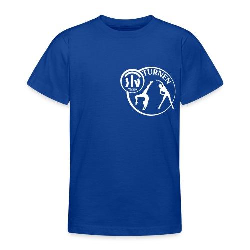 TSV REGEN TURNEN LOGO 300dpi RGB 6000x5300 - Teenager T-Shirt