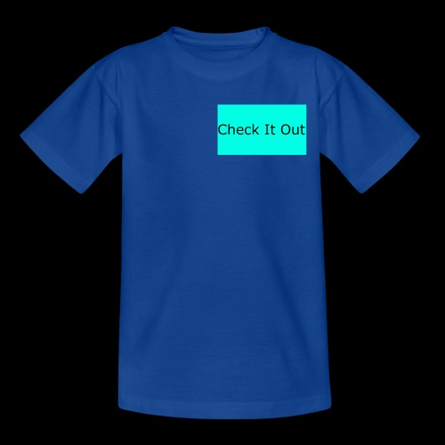check it out - Teenage T-Shirt