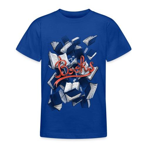 Books - Teenage T-Shirt