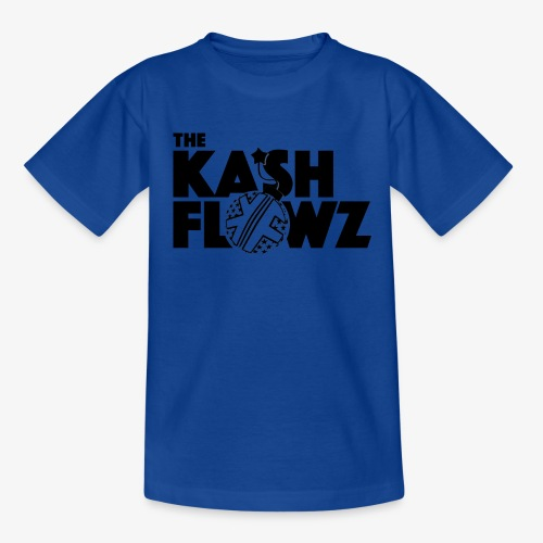 The Kash Flowz Official Bomb Black - T-shirt Ado