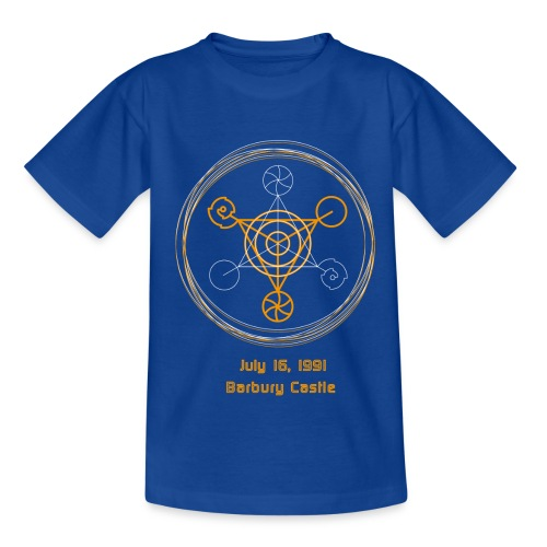 Kornkreis Barbury Castle 1991 Golden Rings - Teenager T-Shirt
