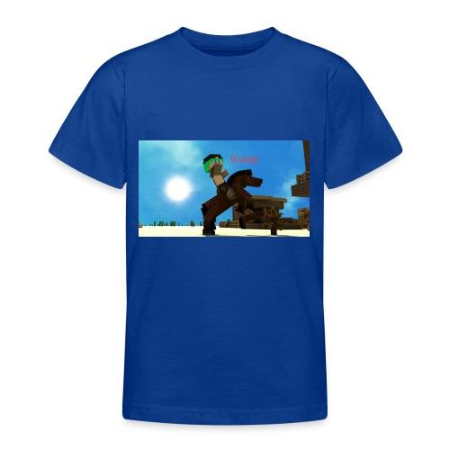 Green Emerald wanted - Teenage T-Shirt