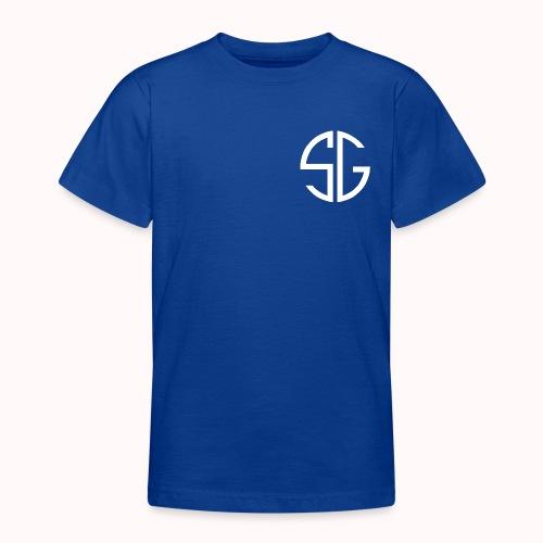 SemGamer log in wit - Teenager T-shirt
