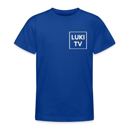 Luki Tv mördch - Teenager T-Shirt