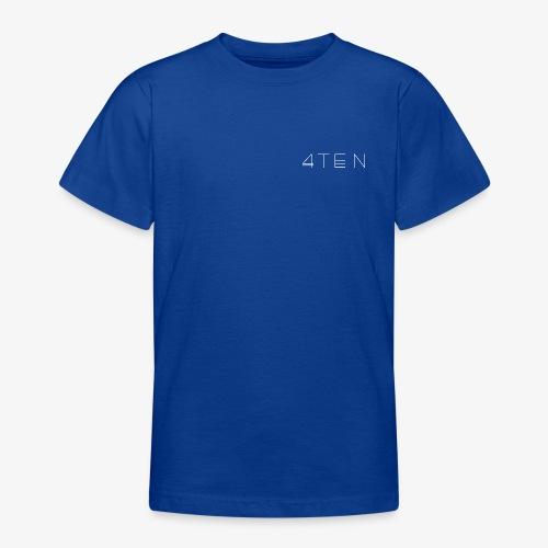 4TEN Classic White - Teenage T-Shirt