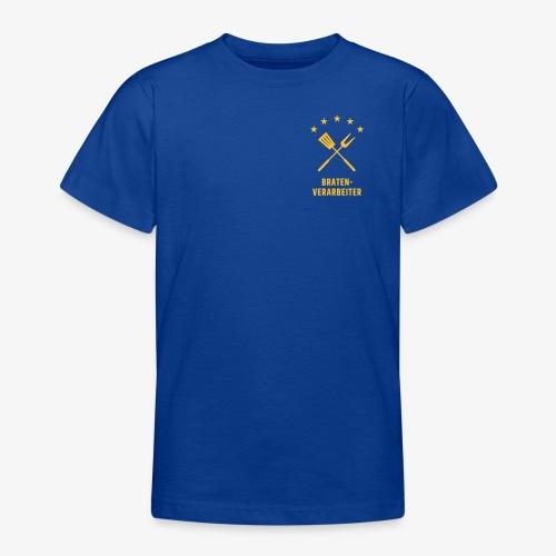 Braten-Verarbeiter - Teenager T-Shirt