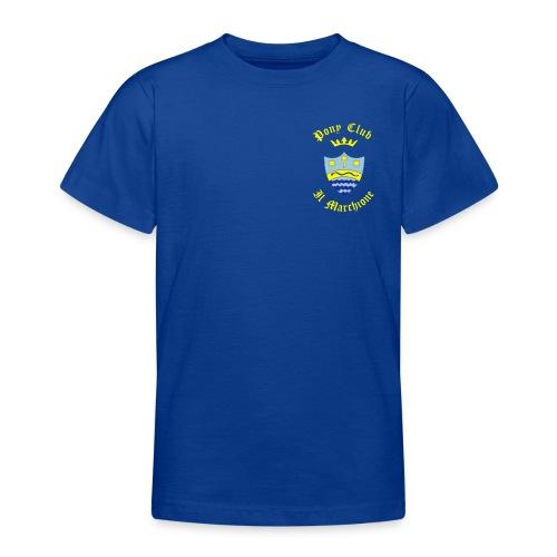 MARCHIONE SU FONDO BLU - Maglietta per ragazzi