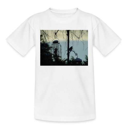 A winter bird - Teenage T-Shirt