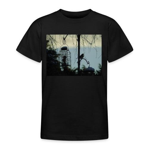 A winter bird - Teenage T-Shirt