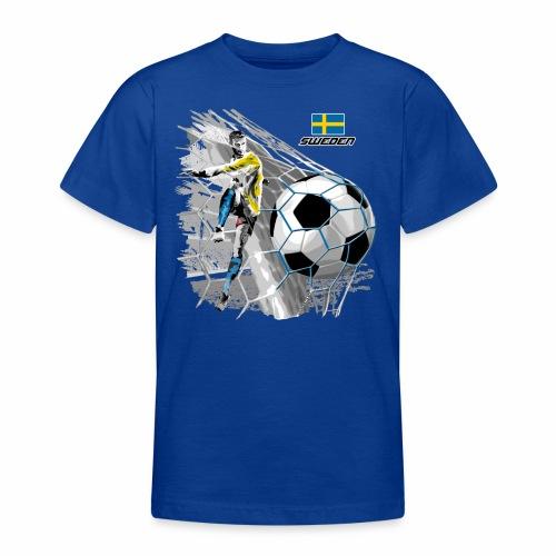FP22F 16 SWEDEN FOOTBALL - Nuorten t-paita