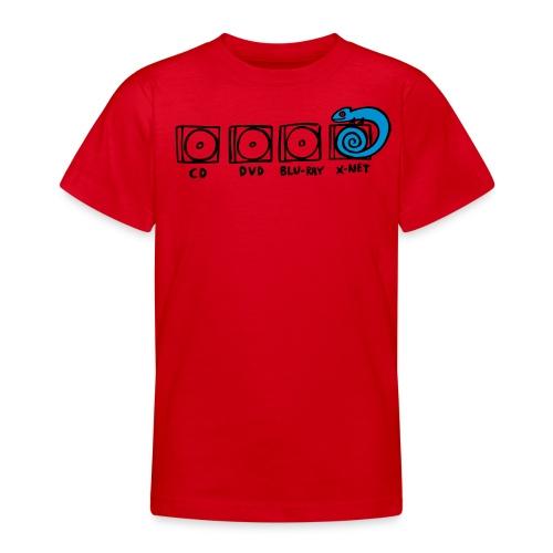 xnet vektormotiv - Teenager T-Shirt