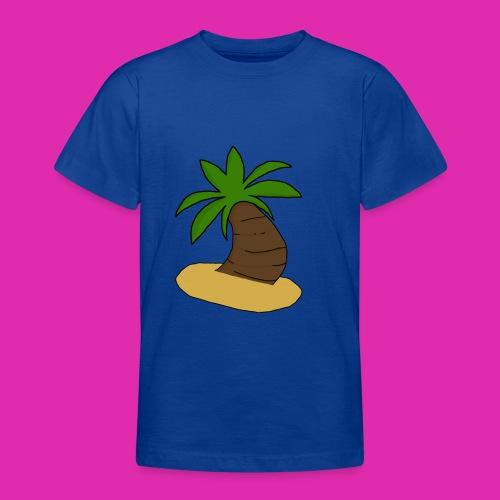 palm tree design - Teenage T-Shirt