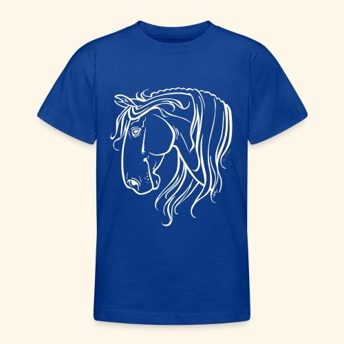Cheval espagnol (blanc) - T-shirt Ado