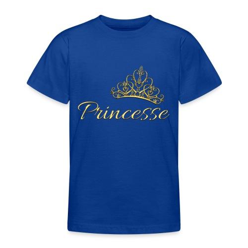 Princesse Or - by T-shirt chic et choc - T-shirt Ado