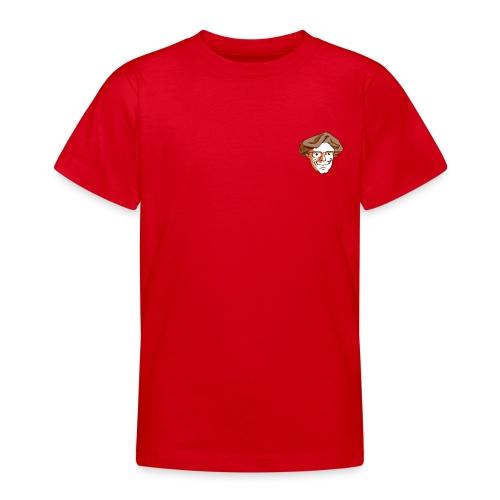 Kopf1-Baumstriezel_RGB - Teenager T-Shirt