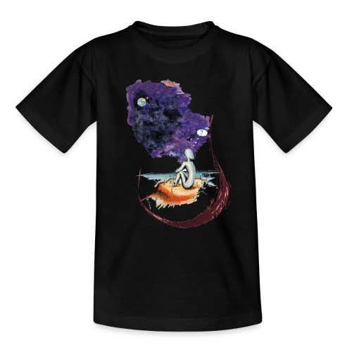 Extraterrestre en contemplation - T-shirt Ado