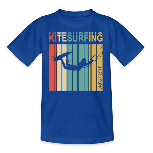 Kitesurfing Ouest Côte - T-shirt Ado