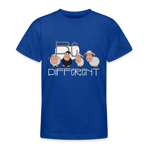 Coole Be different Schafe Gang - Gute Laune Schaf - Teenager T-Shirt