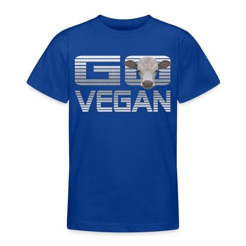 GO VEGAN KALB - Teenager T-Shirt