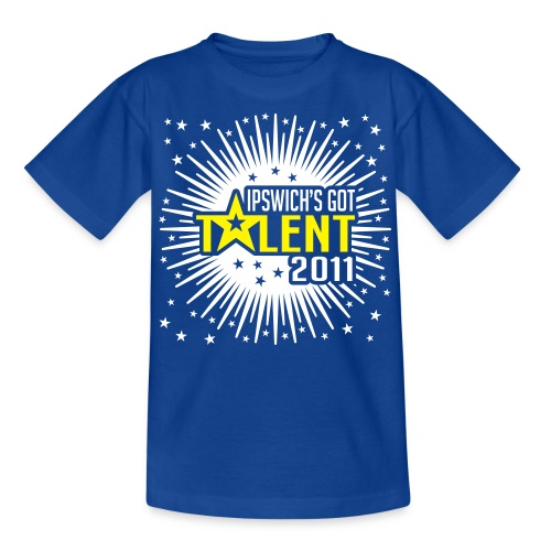 Ipswich s Got Talent 2011 - Teenage T-Shirt