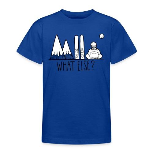 ski et montagnes what else - T-shirt Ado