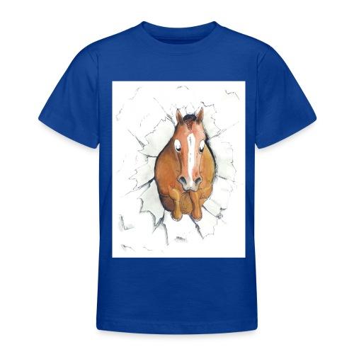 springen cmyk - Teenager T-Shirt