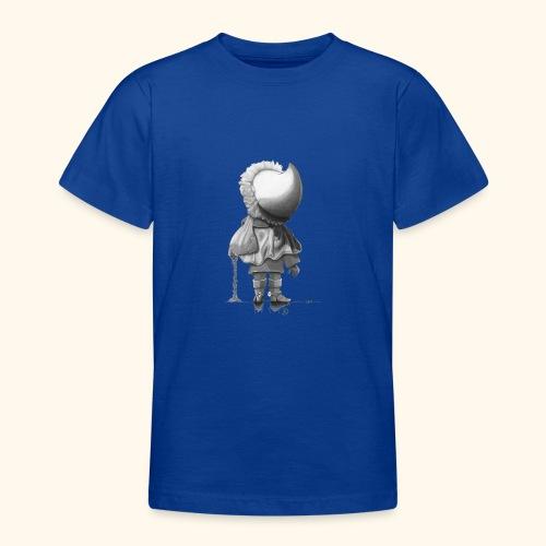 Unser Sandmännchen von hinten - schwarz - Teenager T-Shirt