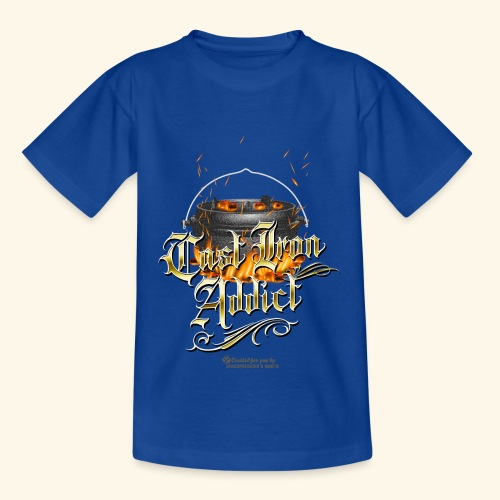 Cast Iron Addict - Teenager T-Shirt