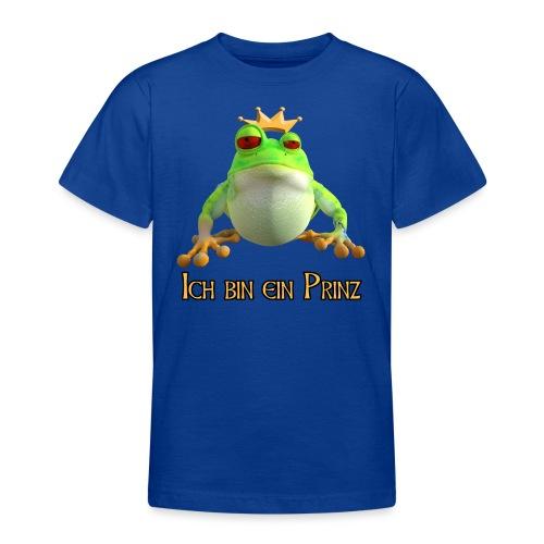 Ich bin ein Prinz - Teenager T-Shirt