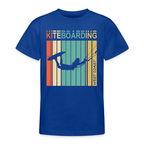 Kiteboarding WEST COAST - T-shirt Ado